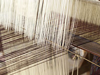 TREDY-fashion Online Magazin. Materialkunde. Baumwolle im Webstuhl